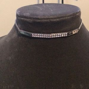 Pave choker necklace by Swarovski